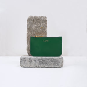 Credit Card Case in green by Alkeme Atelier