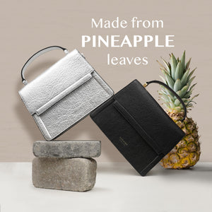 Fire Flap Cross Body in Pineapple leather