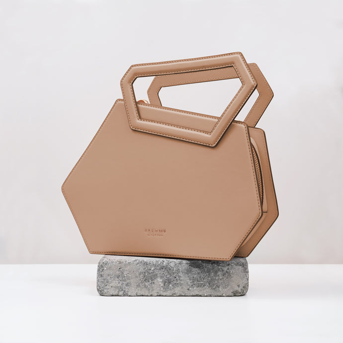 Earth Hexagon Satchel