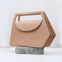 Load image into Gallery viewer, Fire Geometric Flap Satchel