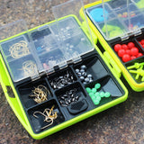 24 Compartments Fishing Tackle Box Full Water-Resistant