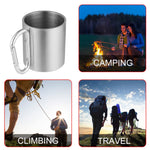 180ml Stainless Steel Cup Camping