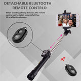 2018 Tripod  Selfie Stick Bluetooth selfie stick for iphone and Android