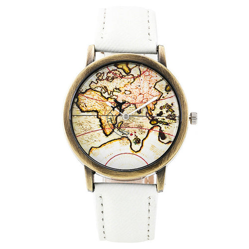World Map Watch - Travel