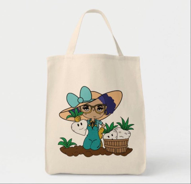 Radishing Harvest Medium Tote