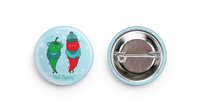 """Chili Peppers"" Button"