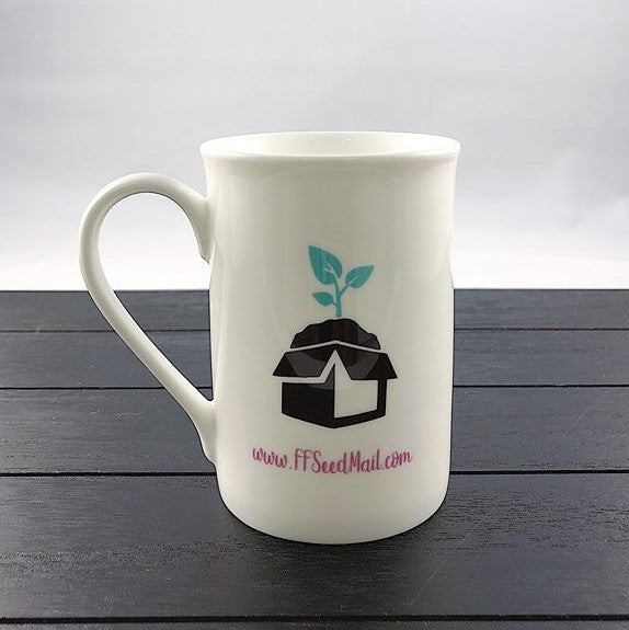Seed Mail Logo Bone China Mug-10 Oz