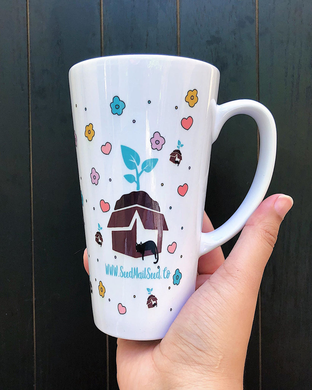 Get Your Grow On Latte Mug-17 Oz