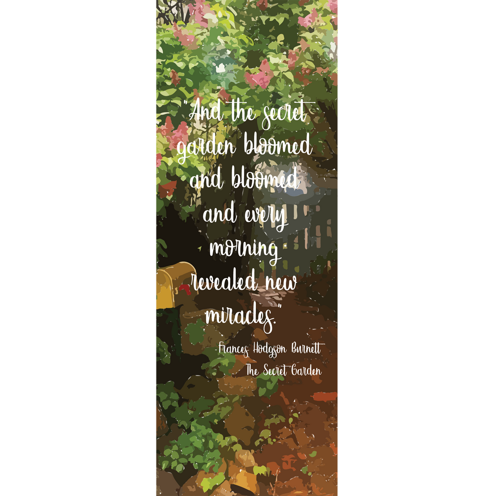 Secret Garden Bookmark