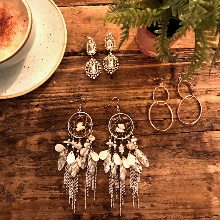 SURANJANA Dream Catcher Earrings