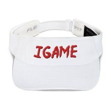 Load image into Gallery viewer, iGAME 3D Visor ( RED ) - iGAME Clothing