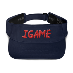 iGAME 3D Visor ( RED ) - iGAME Clothing