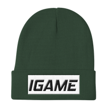 Load image into Gallery viewer, iGAME Knit Beanie - iGAME Clothing