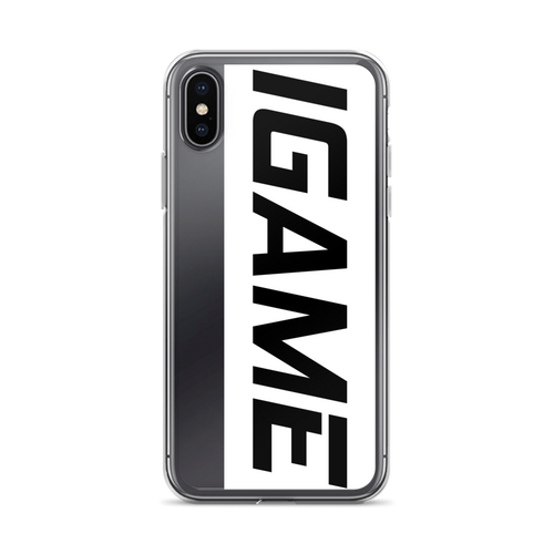 iGAME  Hard iPhones Case - iGAME Clothing