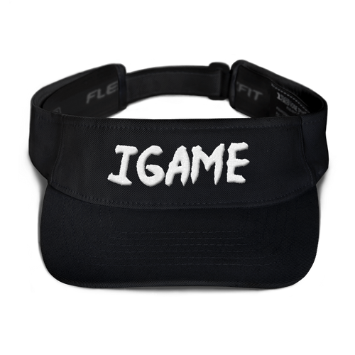 iGAME 3D Visor ( White ) - iGAME Clothing