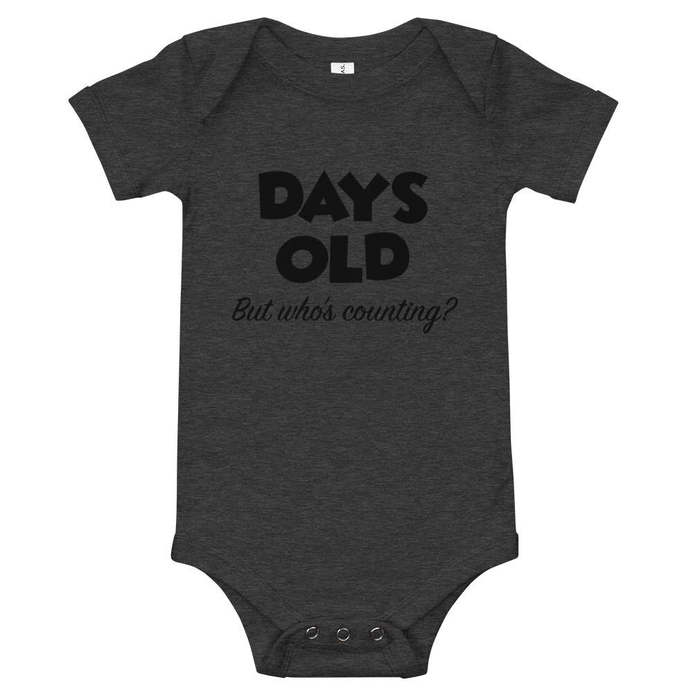 X Days Onesie - iGAME Clothing