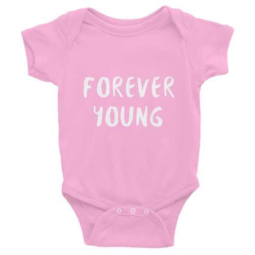Forever Young Infant Bodysuit - iGAME Clothing
