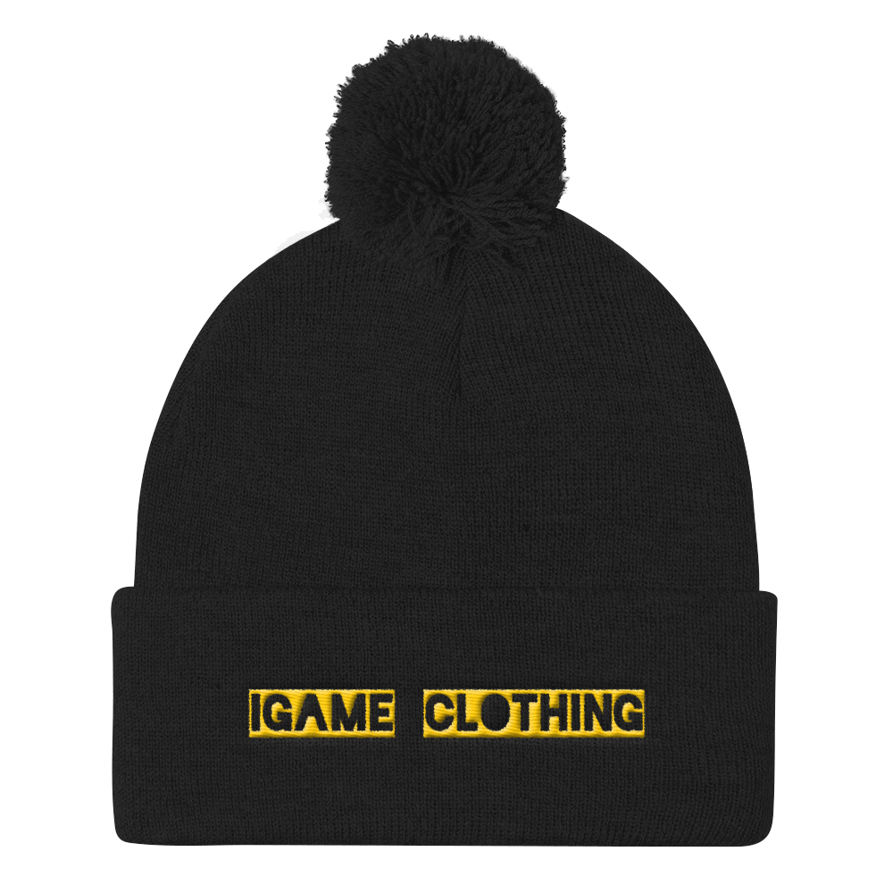 iGAME Clothing 3D Knit Beanie ( YELLOW ) - iGAME Clothing