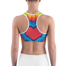 Load image into Gallery viewer, Tie Dye Sports Bra - iGAME Clothing