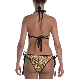 Leopard Bikini ( BROWN ) - iGAME Clothing
