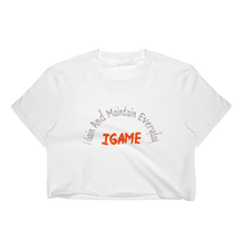 Load image into Gallery viewer, IGAME Short Sleeve Cropped Tee - iGAME Clothing
