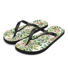 Load image into Gallery viewer, Green Leaf Flip-Flops - iGAME Clothing