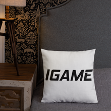 Load image into Gallery viewer, Premium Pillow - iGAME Clothing
