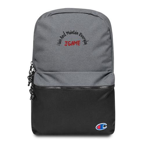 IGAME Champion Backpack - iGAME Clothing