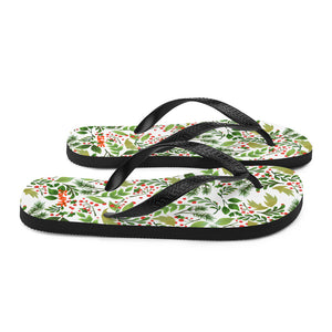 Green Leaf Flip-Flops - iGAME Clothing