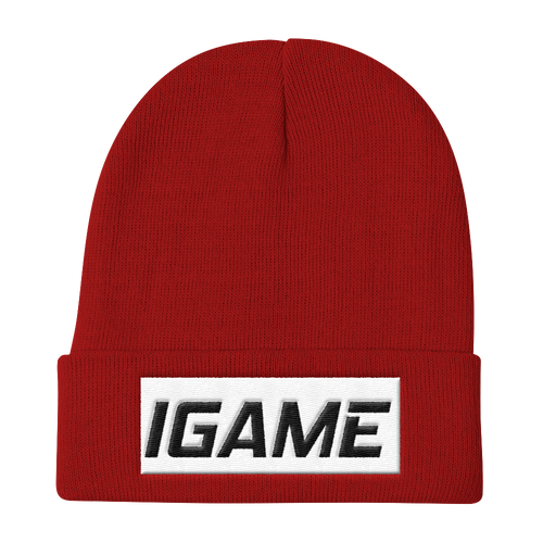 iGAME Knit Beanie - iGAME Clothing