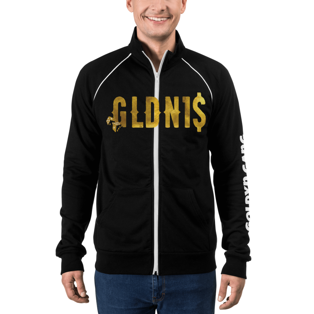 Goldyn1 Piped Fleece Jacket - iGAME Clothing