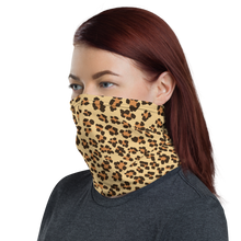 Load image into Gallery viewer, Leopard Print Neck Gaiter