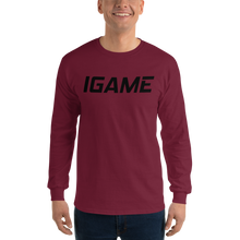 Load image into Gallery viewer, IGAME Long Sleeve T-Shirt - iGAME Clothing