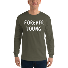 Load image into Gallery viewer, Forever Young Long Sleeve T-Shirt - iGAME Clothing