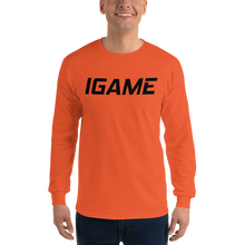 Load image into Gallery viewer, Long Sleeve T-Shirt - iGAME Clothing
