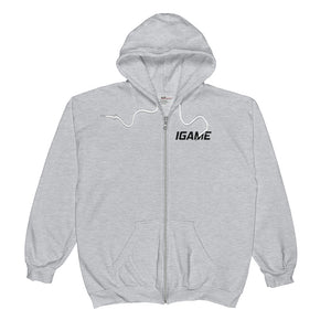 IGAME  Zip Hoodie (UNISEX) - iGAME Clothing