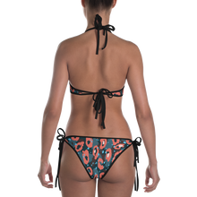 Load image into Gallery viewer, Leopard Bikini ( BLUE ) - iGAME Clothing