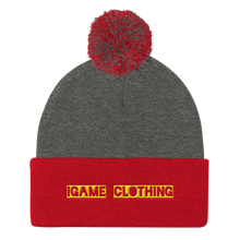 Load image into Gallery viewer, iGAME Clothing 3D Knit Beanie ( YELLOW ) - iGAME Clothing