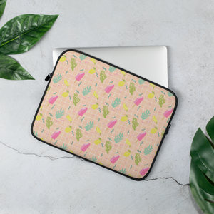 Ice Cream Pink Laptop Bag - iGAME Clothing
