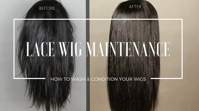 How to Wash And Maintain Your Human Hair Wigs