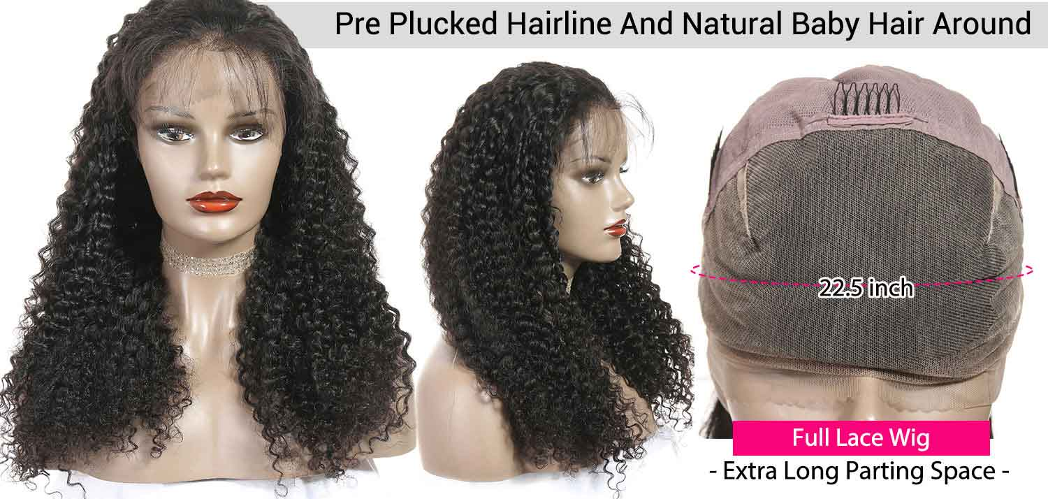 Curly Full Lace Wigs-3