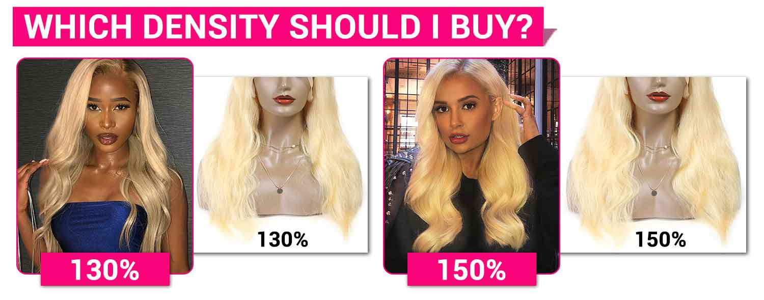 613 Blonde Color Human Hair Wigs-5