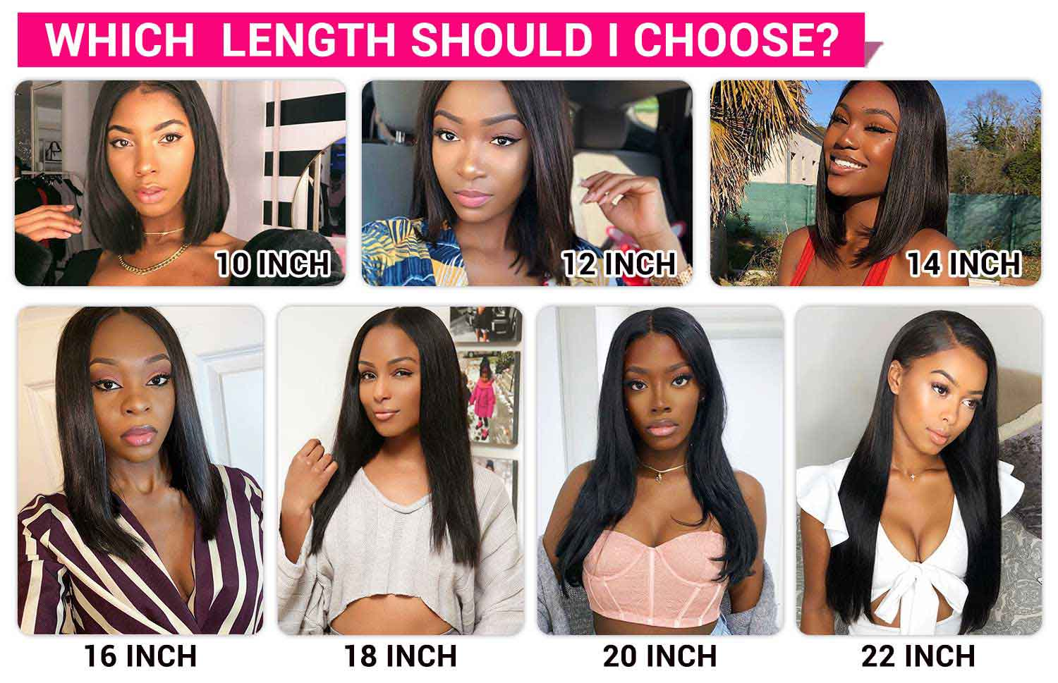 Straight Lace Front Human Hair Wigs-6