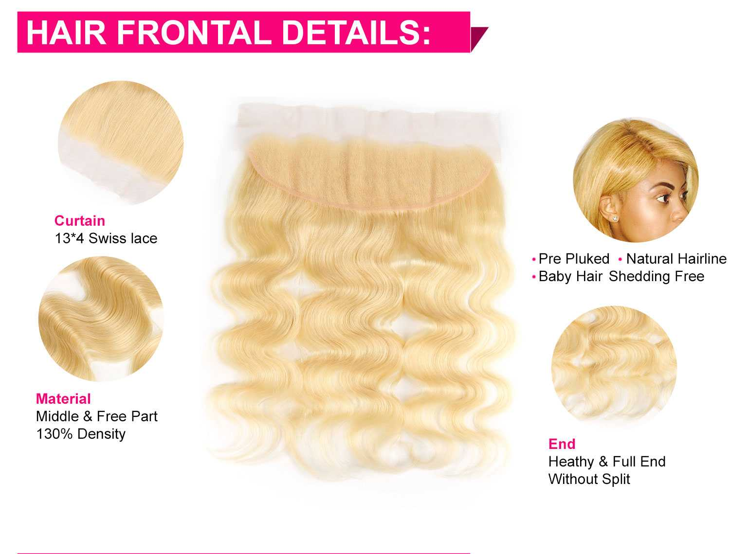 613 Blonde Body Wave Bundles-5