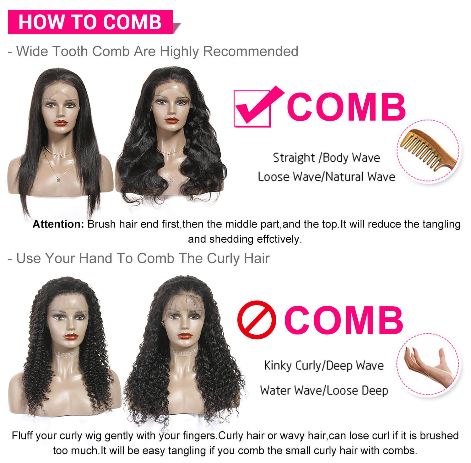 Peruvian Body Wave Lace Front Wigs-7
