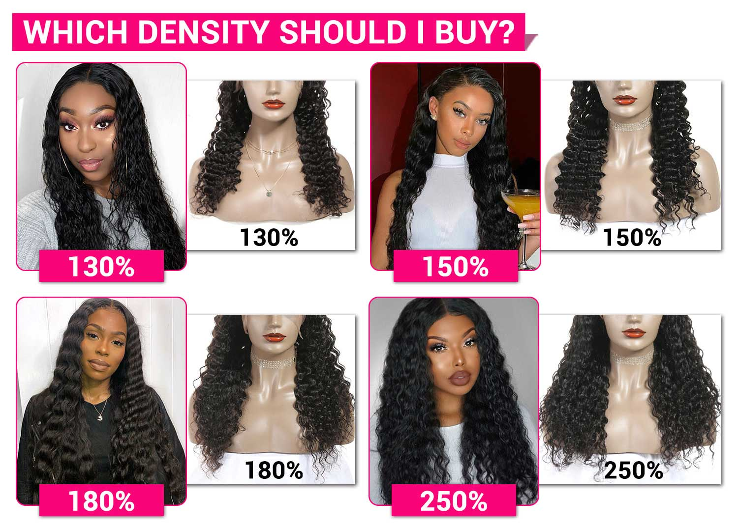 Peruvian Deep Wave Lace Front Wigs-4