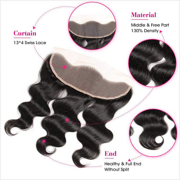 Body Wave 13x4 Lace Frontal-3