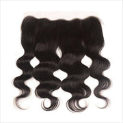 Ali Grace Hair Brazilian Body Wave 13X4 Lace Frontal  Free /Middle Part 100% Virgin Human Hair