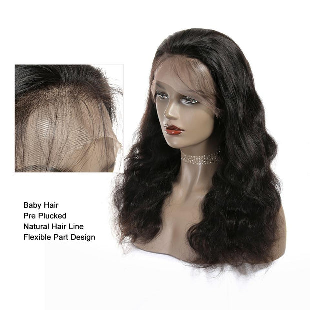 Full Lace Wigs Body Wave Human Hair Wigs-11