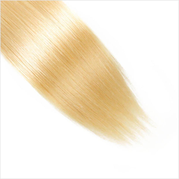 Blonde  Straight Human Hair 4 Bundles-13